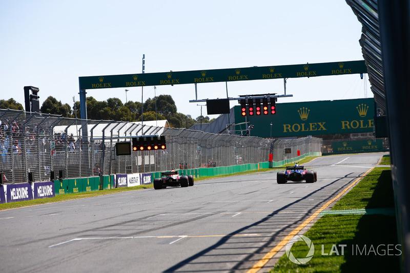 Даніель Ріккардо, Red Bull Racing RB14 Tag Heuer, П'єр Гаслі, Toro Rosso STR13 Honda