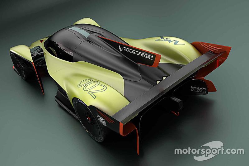 Aston Martin Valkyrie AMR Pro onthulling