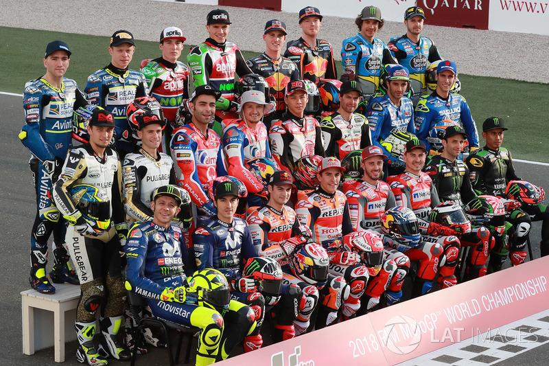 MotoGP Foto de grupo