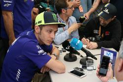 Valentino Rossi, Yamaha Factory Racing, press conference