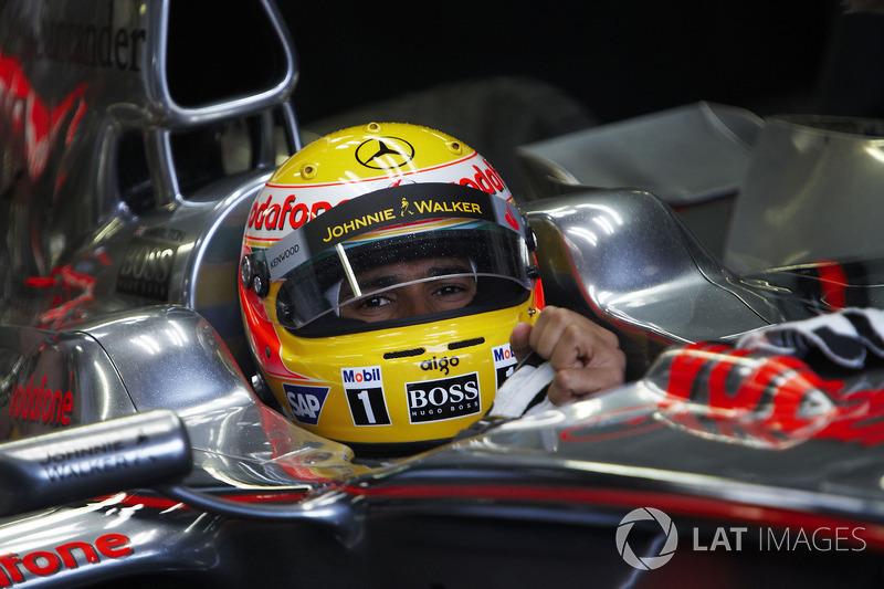 4º Lewis Hamilton: 110 grandes premios