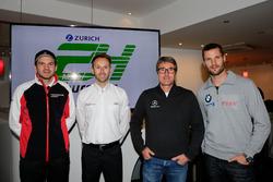 #912 Manthey Racing Porsche 991 GT3-R: Richard Lietz, #8 Audi Sport Team WRT Audi R8 LMS: Rene Rast, Bernd Schneider, Mercedes AMG, #99 Rowe Racing BMW M6 GT3: Martin Tomczyk