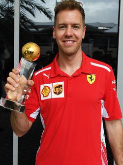 Sebastian Vettel, Ferrari élu pilote de l'année 2017 par les lecteurs de Motorsport-Total.com