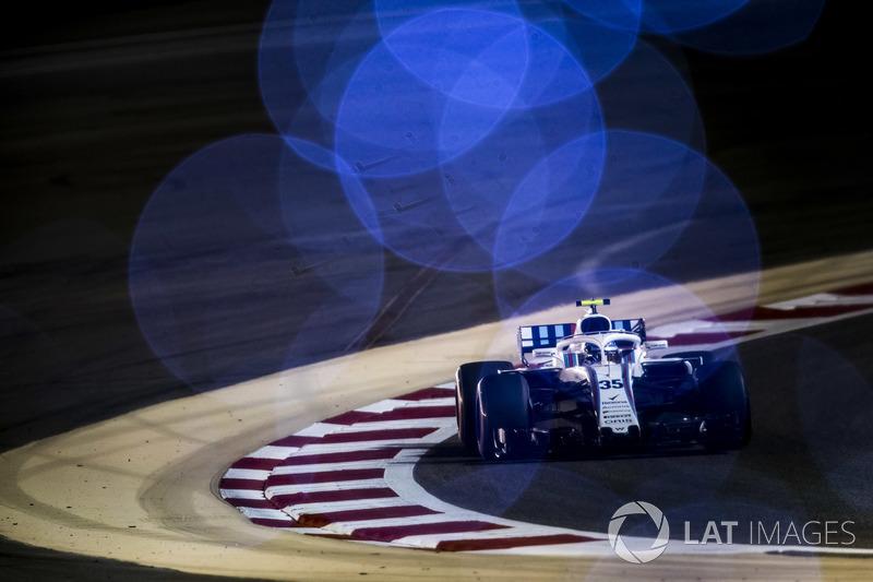 18. Sergey Sirotkin, Williams FW41 Mercedes