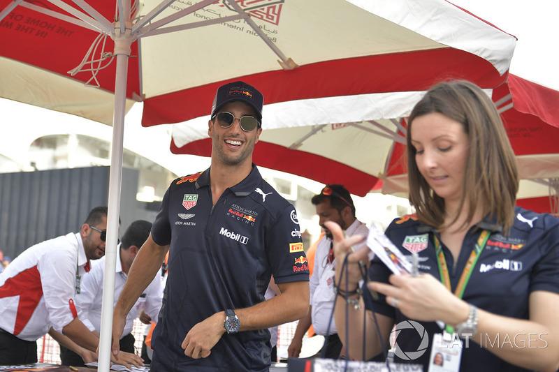 Daniel Ricciardo, Red Bull Racing at the autograph session