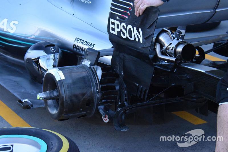 La suspension arrière de la McLaren MCL33