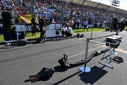 Grid slot for Stoffel Vandoorne, McLaren