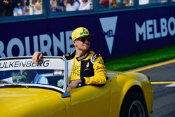 Nico Hulkenberg, Renault Sport F1 Team lors de la parade des pilotes
