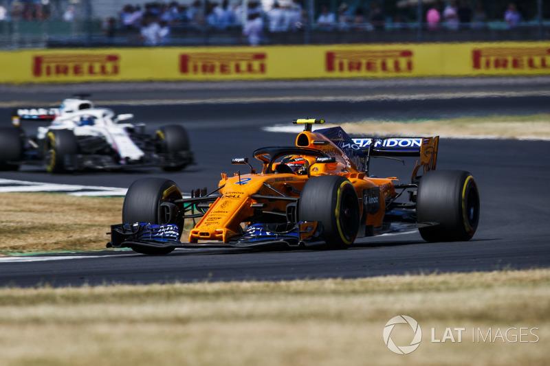 P11: Stoffel Vandoorne, McLaren MCL33