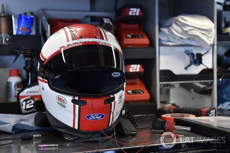Ryan Blaney, Team Penske, Ford Fusion BodyArmor helmet