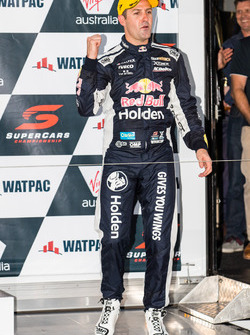 Second place Jamie Whincup, Triple Eight Race Engineering Holden