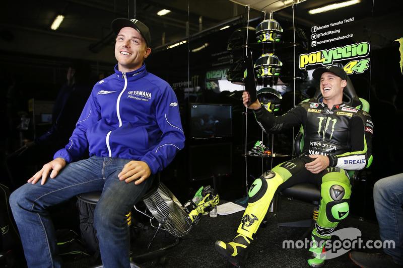 Alex Lowes e Pol Espargaró, Tech 3 Yamaha