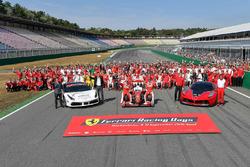 Ferrari group photo