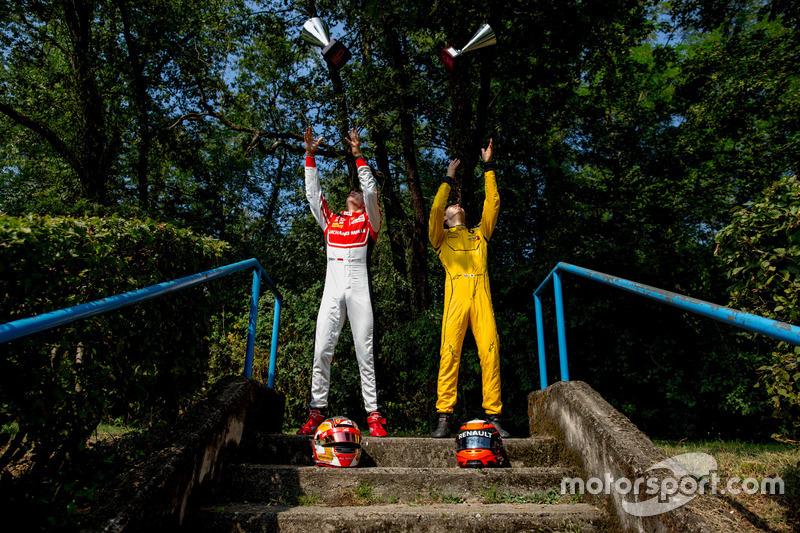 Charles Leclerc, ART Grand Prix and Jack Aitken, Arden International