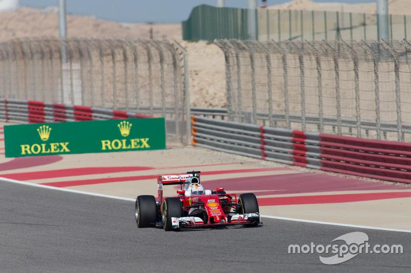 Sebastian Vettel Ferrari SF-16H
