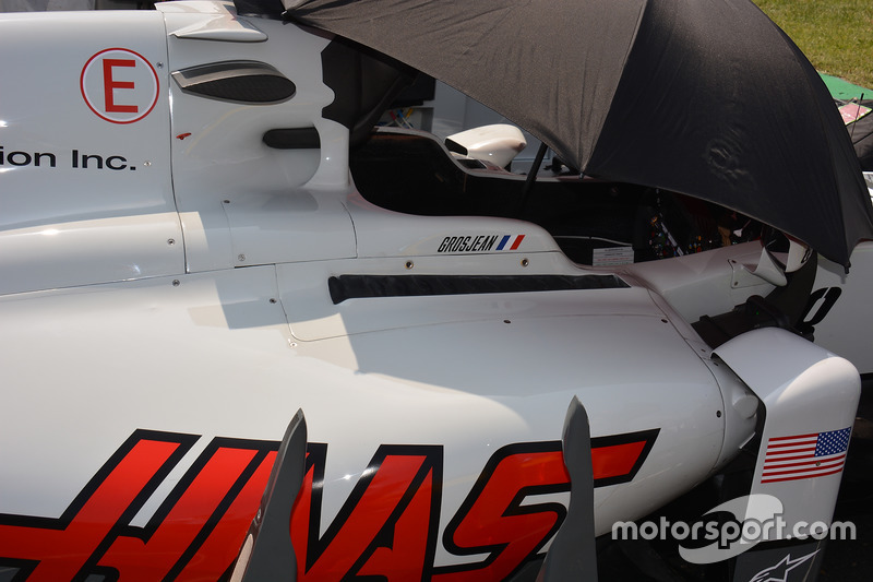 Haas F1 Team VF-16 detail