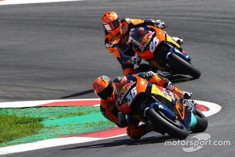 Mika Kallio, KTM MotoGP, dimostrazione della moto