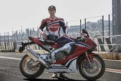 Nicky Hayden, Honda World Superbike Team, e la Honda CBR1000RR Fireblade SP 2017