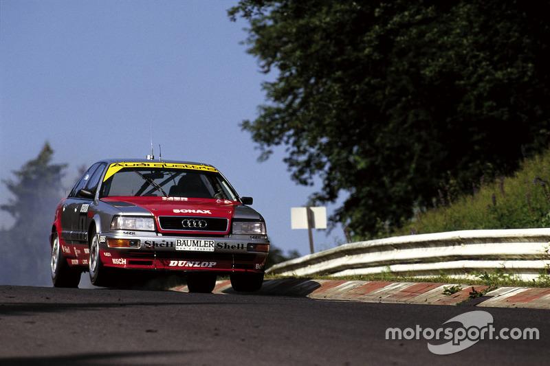 Frank Biela, Audi V8 quattro