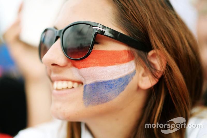 Max Verstappen, Red Bull Racing fan