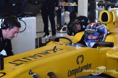 Pruebas de Nicholas Latifi Renault
