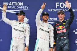 Polesitter Lewis Hamilton, Mercedes AMG F1 Team, second place Nico Rosberg, Mercedes AMG F1 Team, th