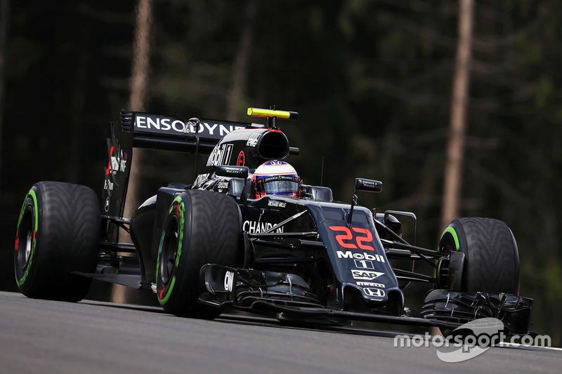 Дженсон Баттон, McLaren MP4-31