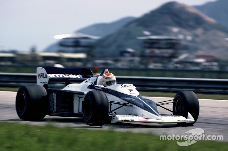 Ganador del GP de Brasil 1983: Nelson Piquet, Brabham BMW (en Jacarepagua)