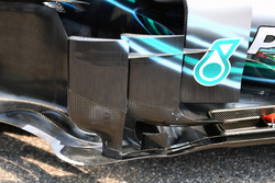 Déflecteur de la Mercedes-AMG F1 W09