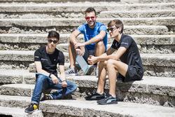 Jack Aitken, ART Grand Prix, Luca Ghiotto, Campos Racing, George Russell, ART Grand Prix