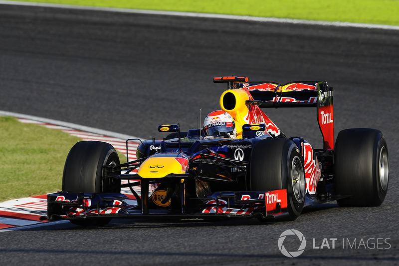 2012: Себастьян Феттель, Red Bull-Renault RB8