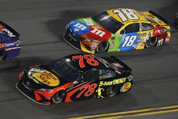 Martin Truex Jr., Furniture Row Racing Toyota Kyle Busch, Joe Gibbs Racing Toyota