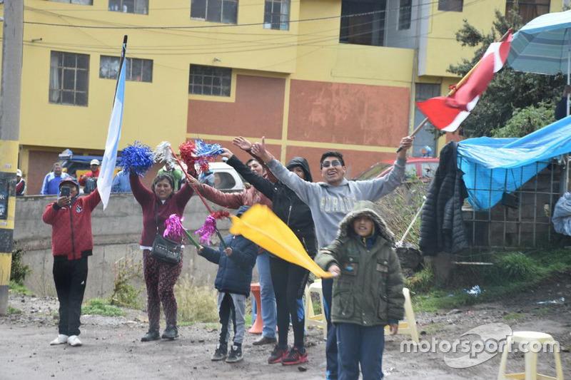 Arribo a La Paz