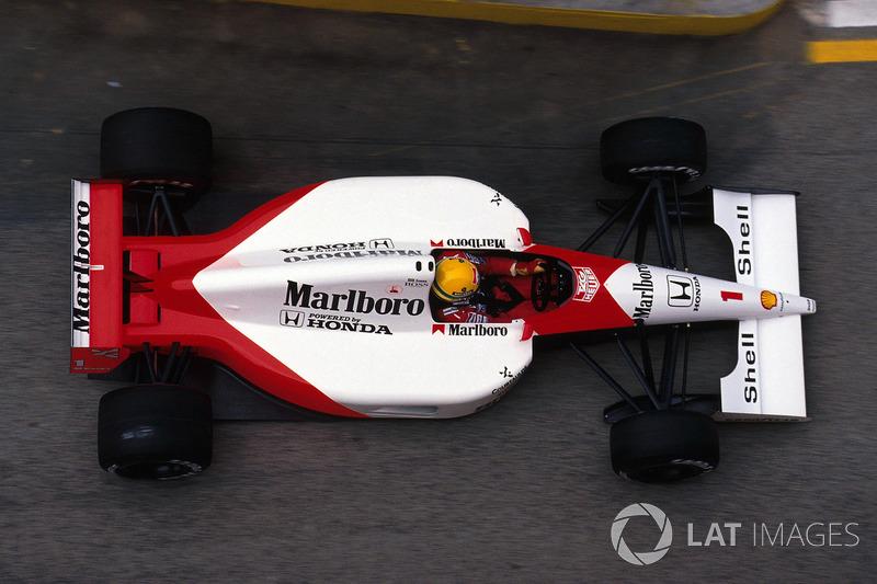 1991: McLaren MP4/6 Honda (восемь побед, титул в КК)