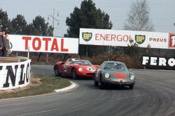Romolo Rossi, Alfa Romeo Giulia SZ ve John Surtees, Mike Parkes, Ludovico Scarfiotti, Lorenzo Bandini, Ferrari 250P
