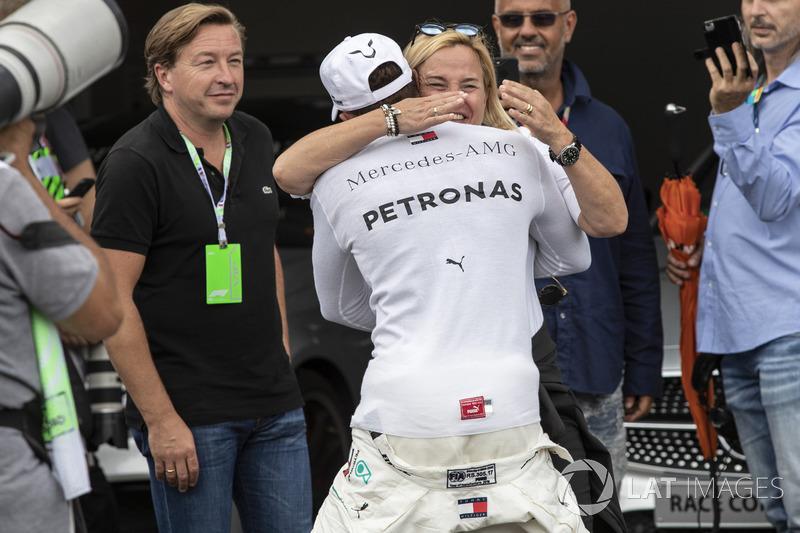 El hombre de la pole: Lewis Hamilton, Mercedes-AMG F1