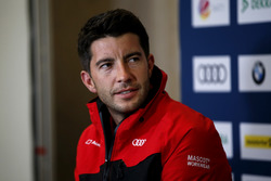 Press Conference, Mike Rockenfeller, Audi Sport Team Phoenix