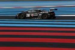 #27 Orange 1 Team Lazarus, Lamborghini Huracan GT3: Fabrizio Crestani, Miguel Ramos, Giuseooe Cipria