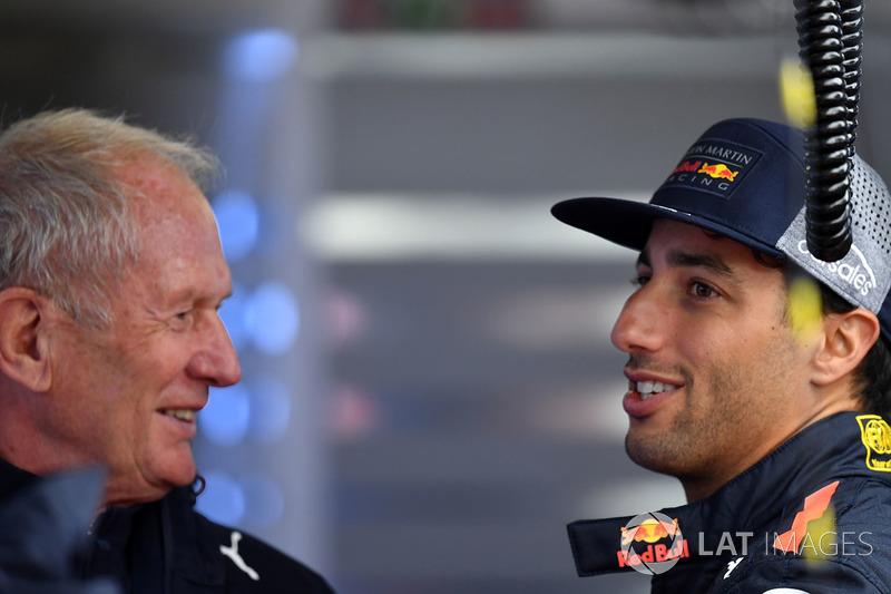 Daniel Ricciardo fez apenas a nona marca no período da tarde.