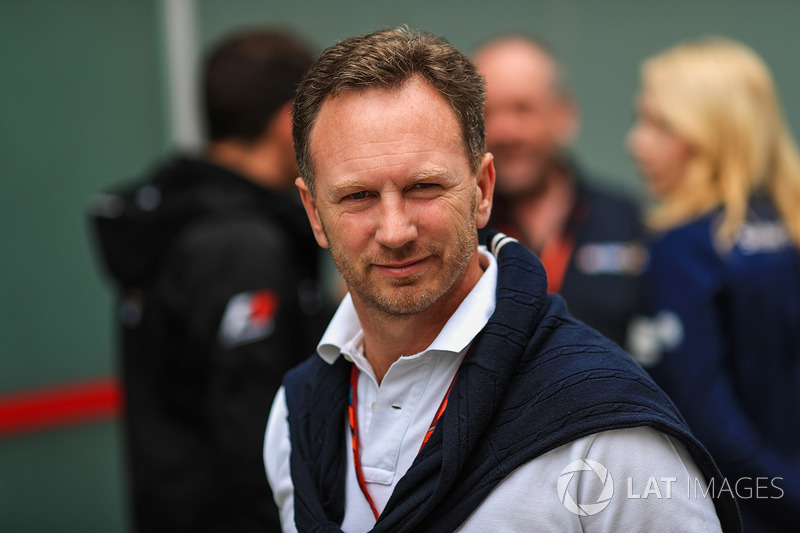 Christian Horner, director Red Bull Racing Team