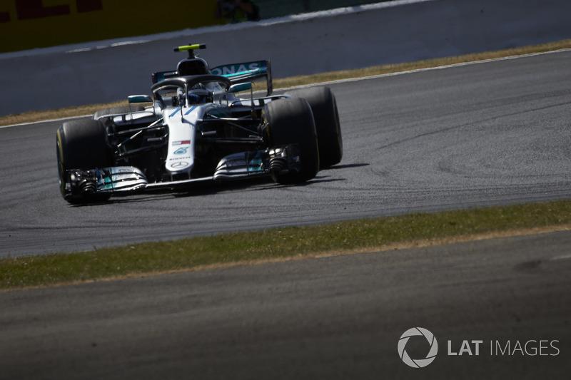 9º Valtteri Bottas, Mercedes AMG F1 W09 (549 vueltas)