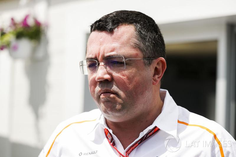 Eric Boullier, Racing Director, McLaren