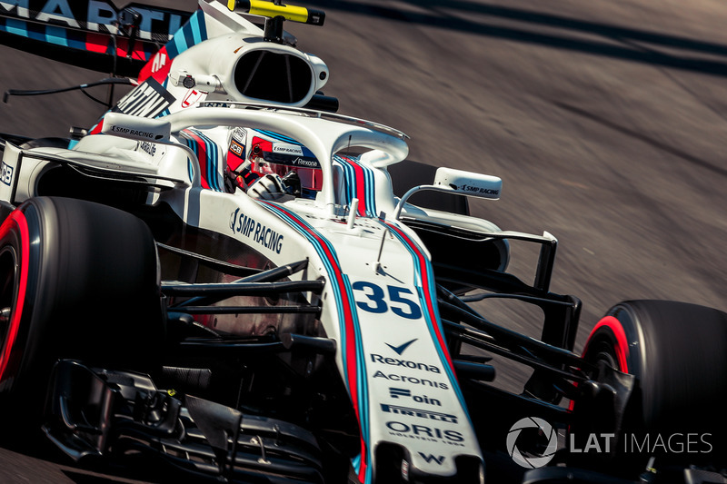 14. Sergey Sirotkin, Williams FW41