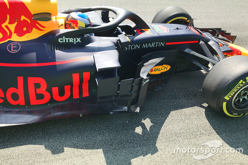 Daniel Ricciardo, Red Bull Racing RB14 detalle