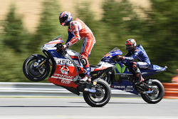 Danilo Petrucci, Pramac Racing, Maverick Viñales, Yamaha Factory Racing