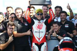 Race winner Takaaki Nakagami, Idemitsu Honda Team Asia