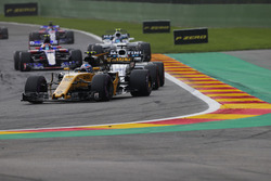 Jolyon Palmer, Renault Sport F1 Team RS17, Felipe Massa, Williams FW40, Carlos Sainz Jr., Scuderia Toro Rosso STR12, Lance Stroll, Williams FW40