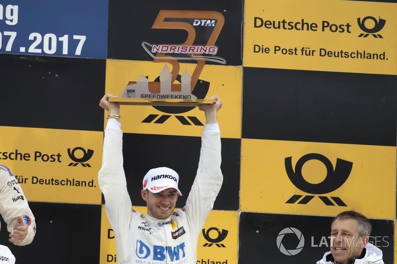 Podium:  3. Edoardo Mortara, Mercedes-AMG Team HWA, Mercedes-AMG C63 DTM
