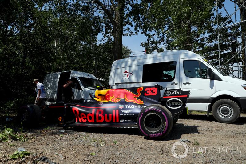 Гран Прі Канади. Red Bull Racing RB13 Макса Ферстаппена