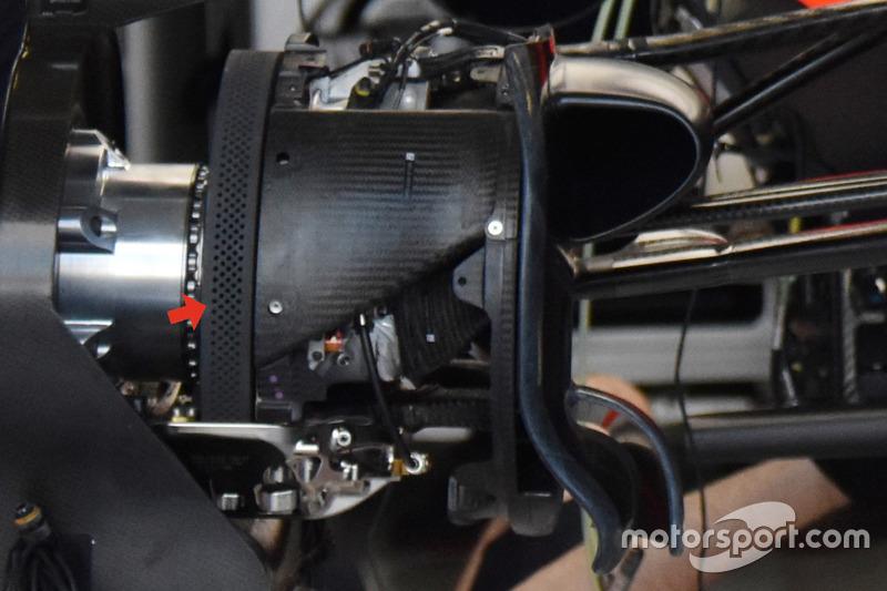 Передние тормоза Red Bull RB13